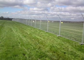 openwork temporary fencing