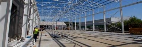 Production Hall in Gorlice in progress
