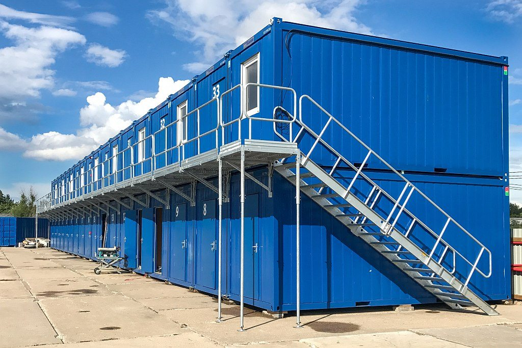 container stairs