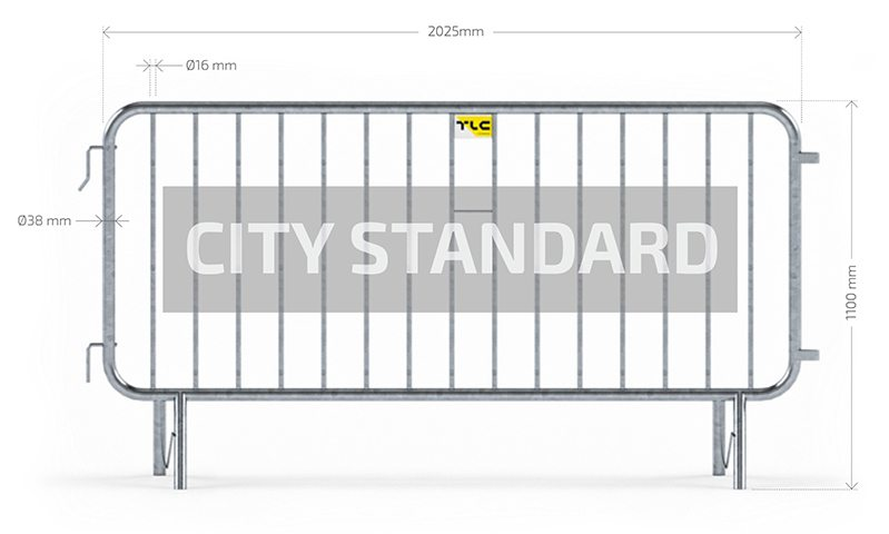 guardrail City standard