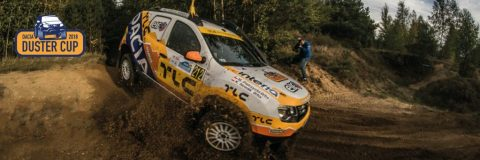 Dacia Duster Cup rally TLC car