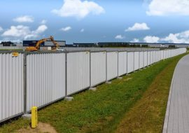 TLC Smart hoarding closed fences