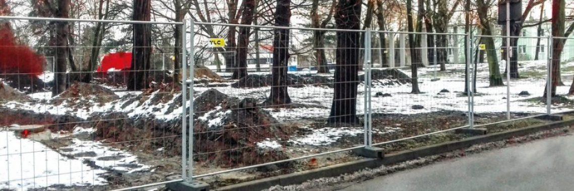 MOBILT Mesh fence TLC Group in Rzeszów