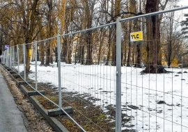 MOBILT Mesh fence TLC in Rzeszów