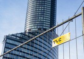 tlc group temporary fences smart mobilt office block complex Centrum Południe Poland www-2