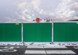 tlc group smart hoarding fences metro Warsaw