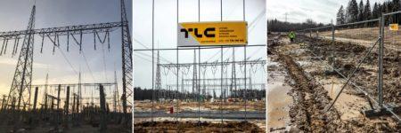 TLC Group mobilt fences gdansk baner