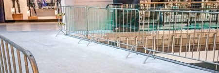 temporary-barriers-city-bonarka-cracow-poland-banner