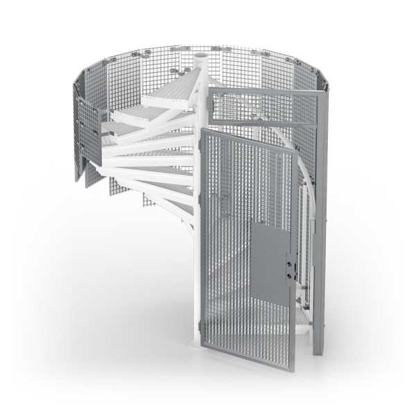 Grating cage