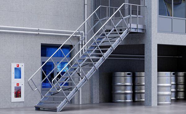 Linea modular stairs
