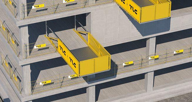 Temporary-Unloading-Platforms