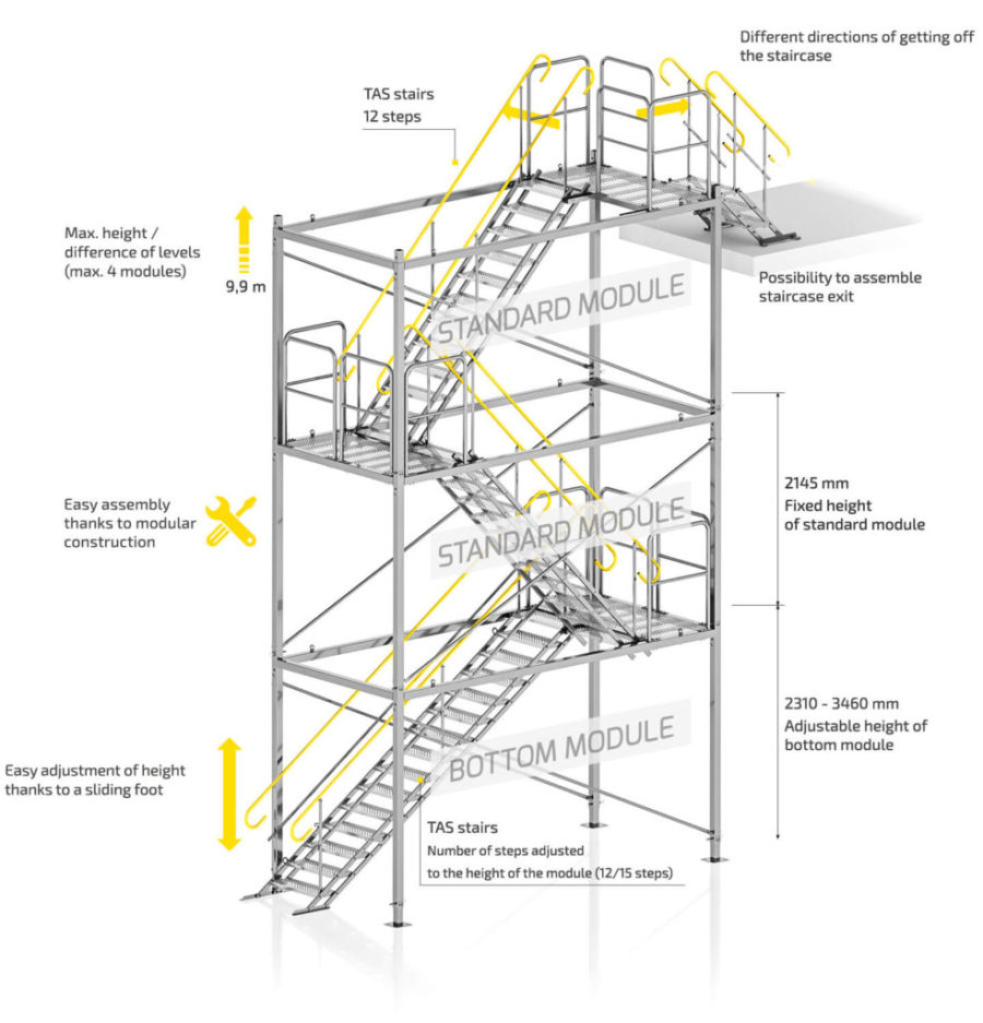 temporary-staircases