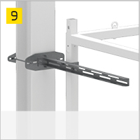 Element anchoring to the steel structures